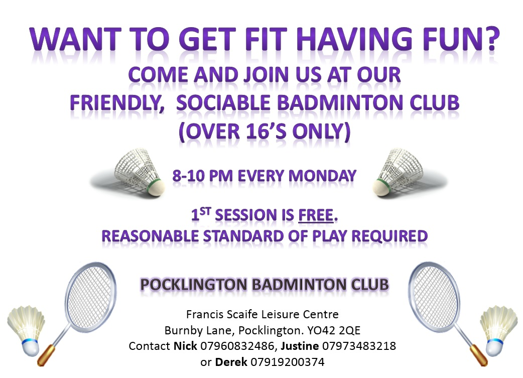 Pocklington Badminton Club